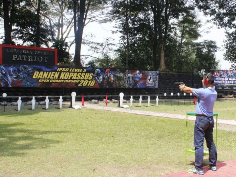 450 Petembak Perebutkan Piala Danjen Kopassus