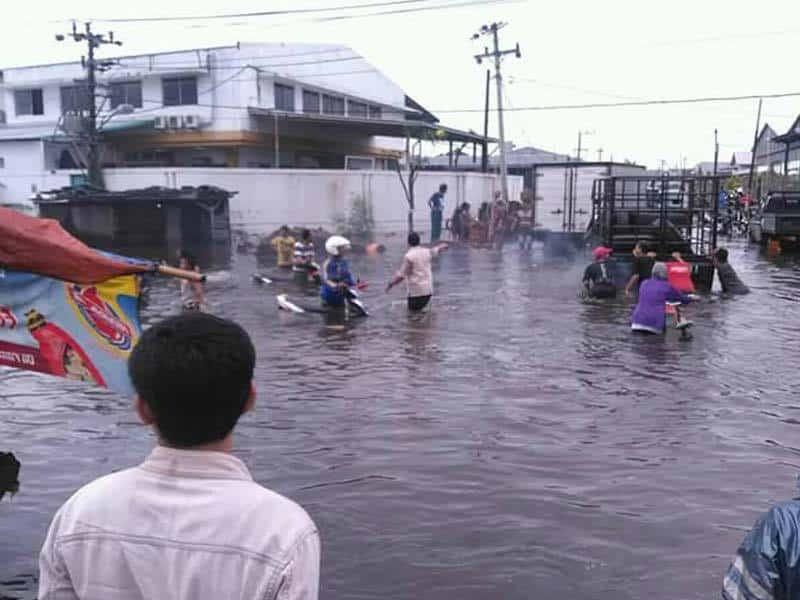 Banjir Kaligawe Akibat Rontoknya 'Parapet' Sungai Saringin