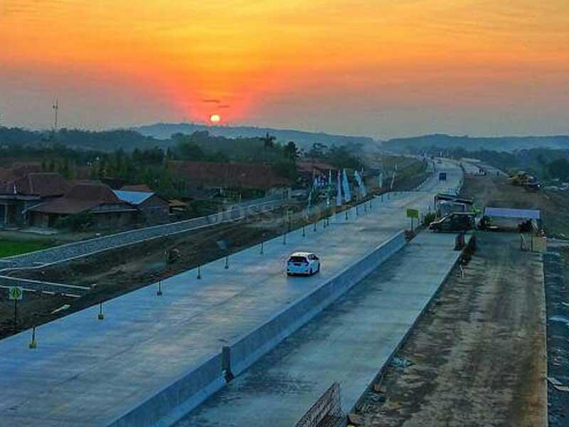 Ruas Tol Semarang Batang Beroperasi Penuh Akhir Tahun Ini