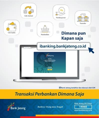 Internet Banking Bank Jateng