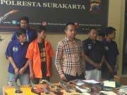 Operasi Pengamanan Asian Games 21 Preman Dibekuk Polisi Solo
