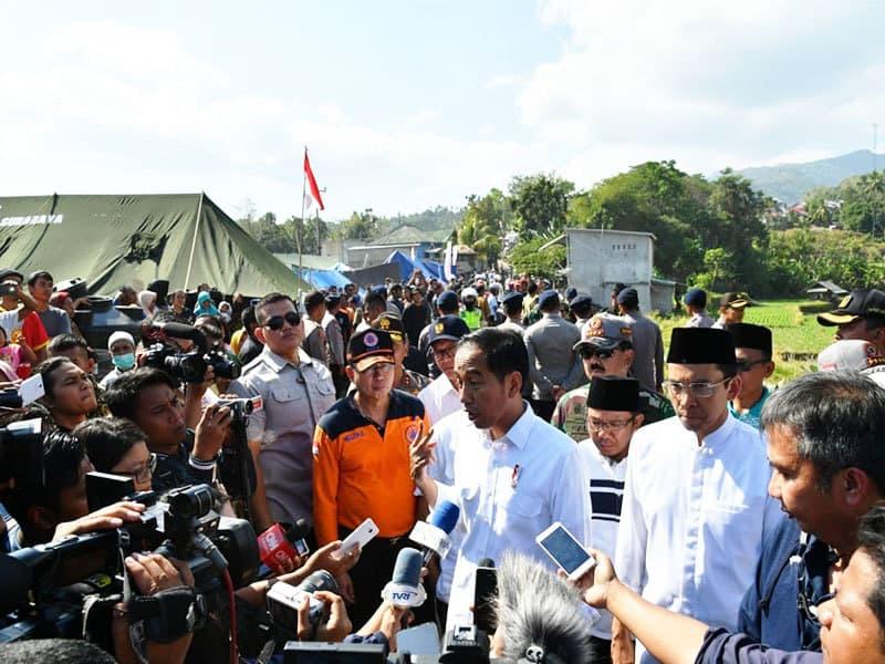 1.191 Warga Korban Gempa di Lombok Terima Bantuan Dana Rumah Rusak