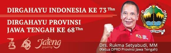 Rukma Setyabudi - Ketua DPRD Provinsi Jawa Tengah