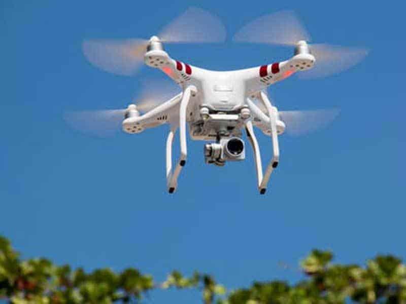 penggunaan drone