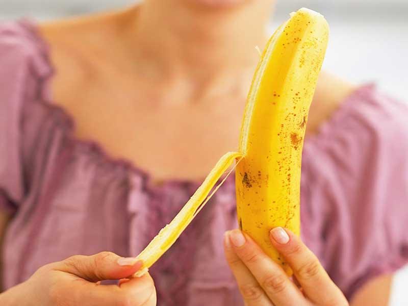 buang kulit pisang
