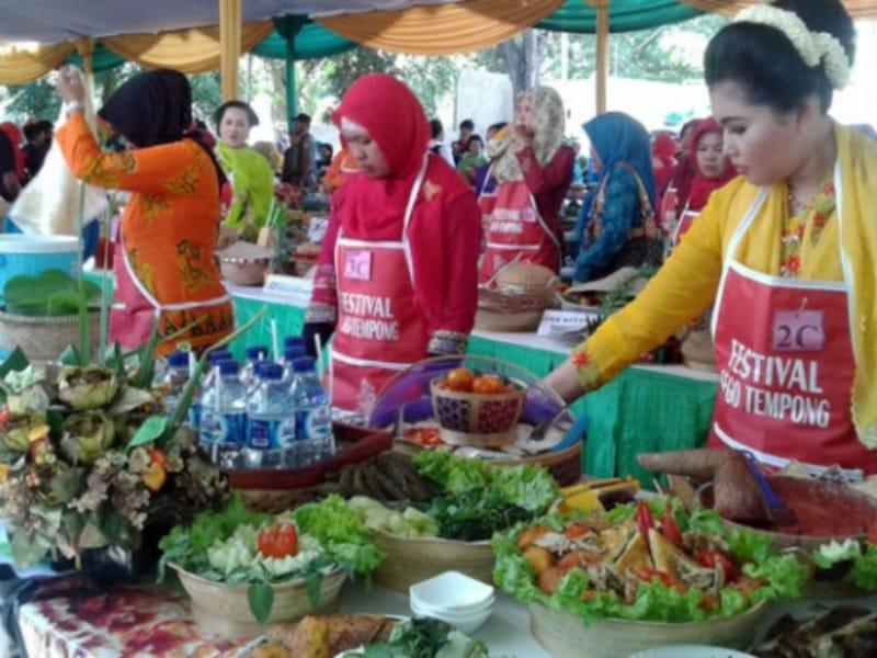 16 Daerah Ikuti Festival Kuliner Tradisional di Candi Prambanan