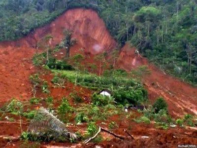 Separuh Wilayah Kabupaten Temanggung Rawan Longsor