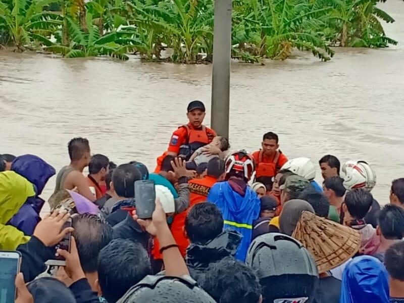 Ribuan Warga Mengungsi, 53 Kecamatan Terendam Banjir di Sulsel