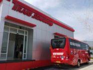 Halte BRT Trans Semarang Bandara Ahmad Yani Dioperasikan