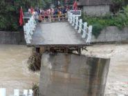 Jembatan Repaking Yang Ambrol Diterjang Banjir Akan Dibangun Permanen