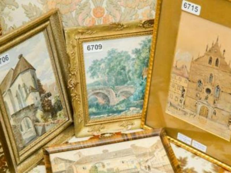 Puluhan Lukisan Karya Adolf Hitler Bakal Dilelang Di Jerman