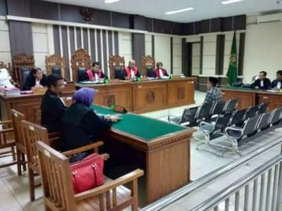 Pembobol Bank Jateng Divonis 6,5 Tahun Penjara