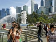 wisatawan Indonesia ke singapura