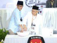 Jelang Debat: Ma'aruf Amin Siapkan Ayat, Sandiaga Olahraga Bareng AHY