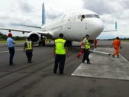 Pesawat Garuda Indonesia Tergelincir di Bandara Adi Sutjipto