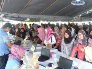 Antrean Nyoblos WNI di Brunei Bikin Kemacetan Sepanjang 1 KM