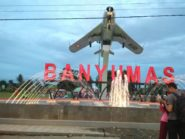 Wah, Ada Monumen Pesawat MIG 17 di Alun-alun Banyumas