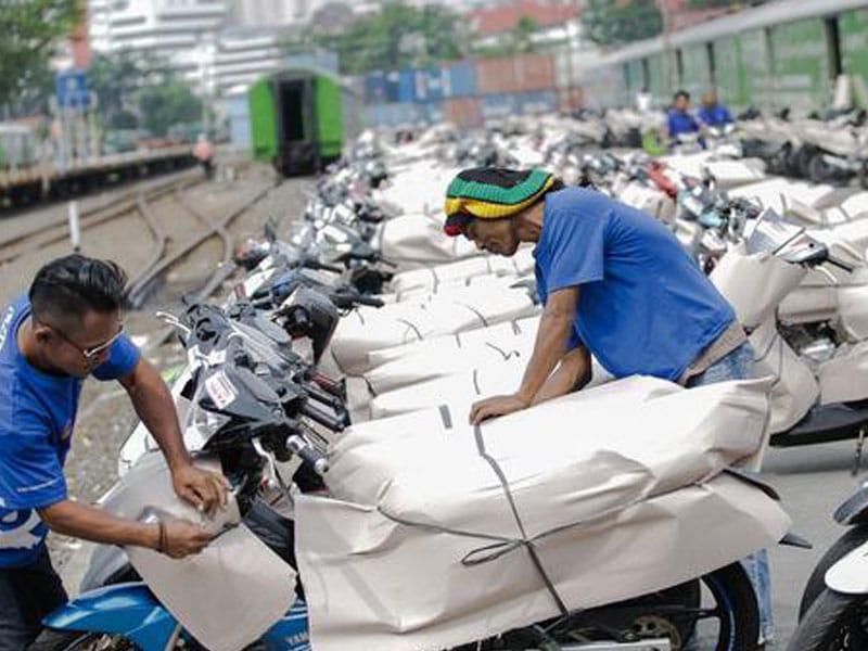 Peserta Layanan Angkutan Motis PT KAI Capai 1.582 Motor