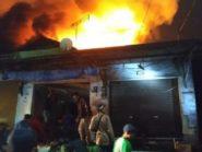 Ratusan Kios Di Pasar Lawang Terbakar, Pengelola Rencanakan Relokasi