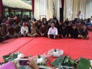 Doakan Pemilu Damai, Warga Gelar Kenduri Nusantara
