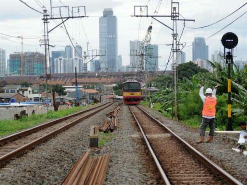 Jalur Ganda KA Stasiun Baron hingga Nganjuk Mulai Difungsikan