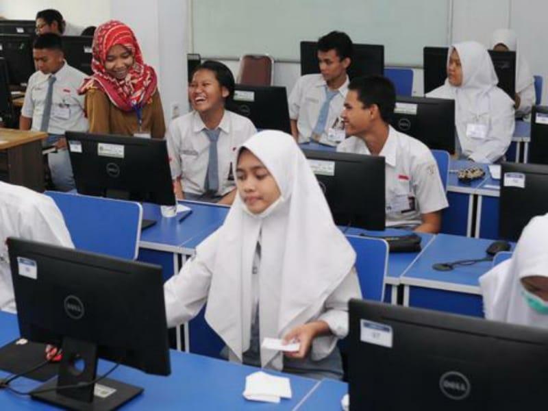 Komputer Kena Virus, SMA Muhammadiyah Ulang UNBK 15-16 April