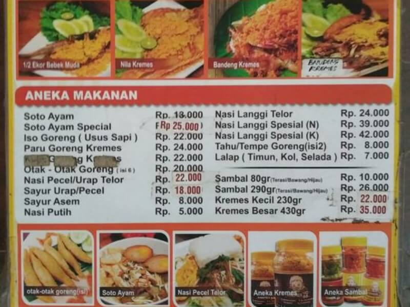 Rumah Makan Dan Resto Di Solo Wajib Pasang Daftar Harga Joss Co Id