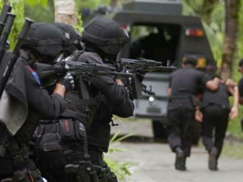 Delapan Terduga Teroris di Jateng Ditangkap di lokasi Berbeda