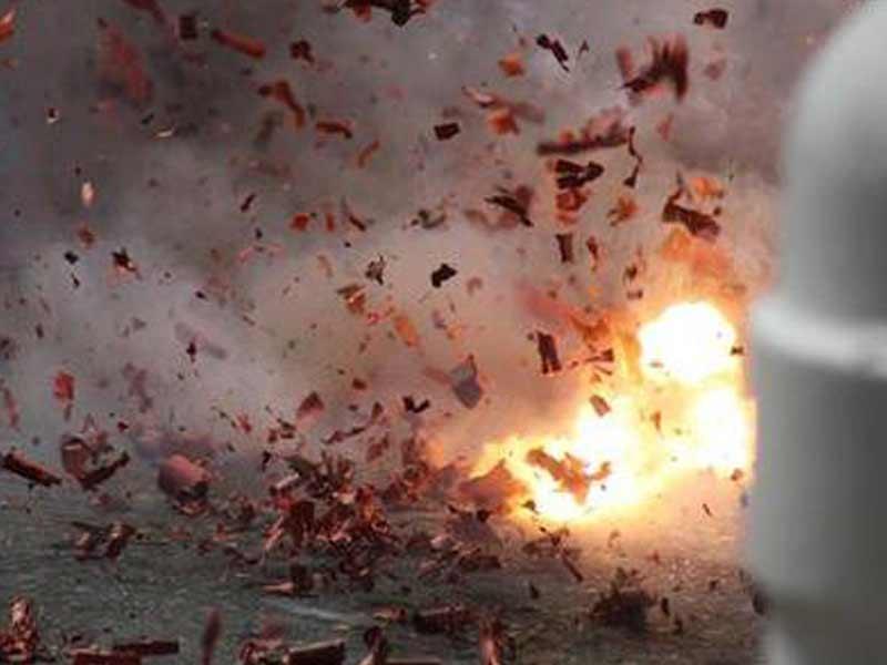 Bom Bunuh Diri Meledak di Pospam di Tugu Kartasura, Arus Lalu Lintas Dialihkan
