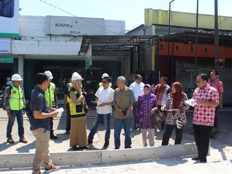 Komisi D Sidak Percepatan Pembangunan Ruas Jalan Provinsi