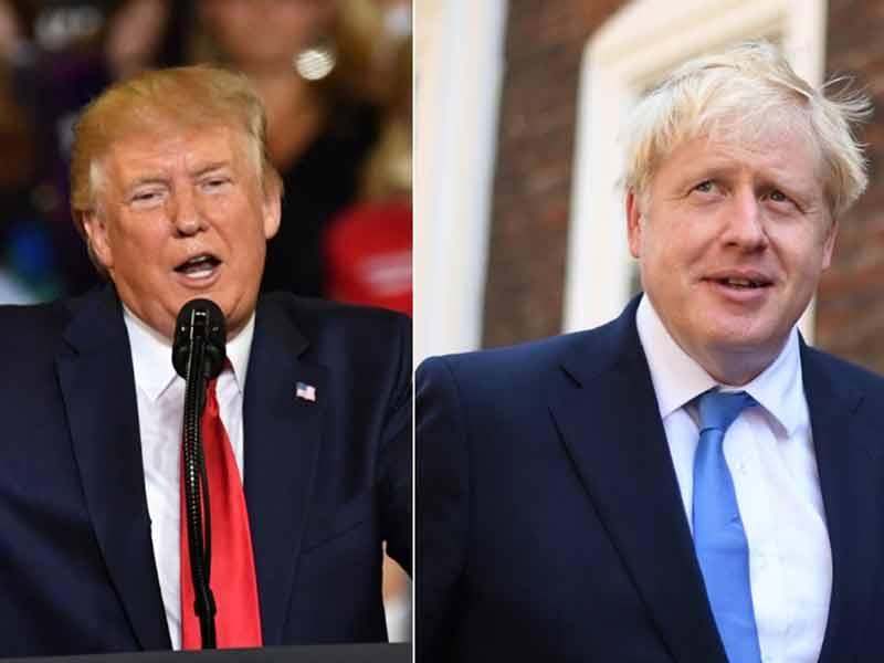 Bakal Ketemu Trump Pertama Kalinya, Ini Yang Dilakukan Boris Johnson
