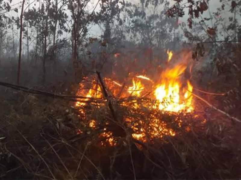 Titik Api di Ampel Masih Belum Padam