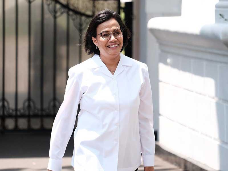 Keluar Dari Istana, Sri Mulyani : Suatu Kehormatan Bisa Kembali Jadi Menkeu