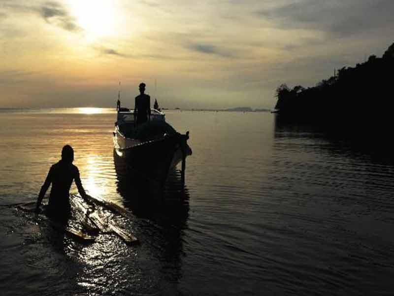 Duh Gegara Kabut Asap, Nelayan Aceh Nyasar Hingga India
