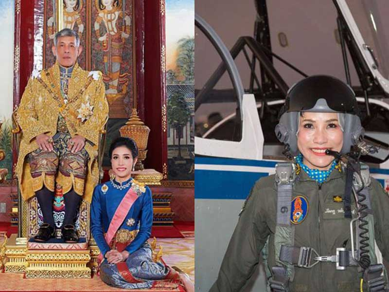 Belum Genap 3 Bulan, Status Selir Sineenat Wongvarjirapakdi Dilucuti Raja Thailand