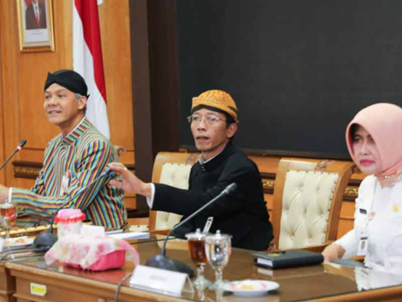 Sah, Herru Setiadhie Dilantik Jadi Sekda Provinsi Jawa Tengah