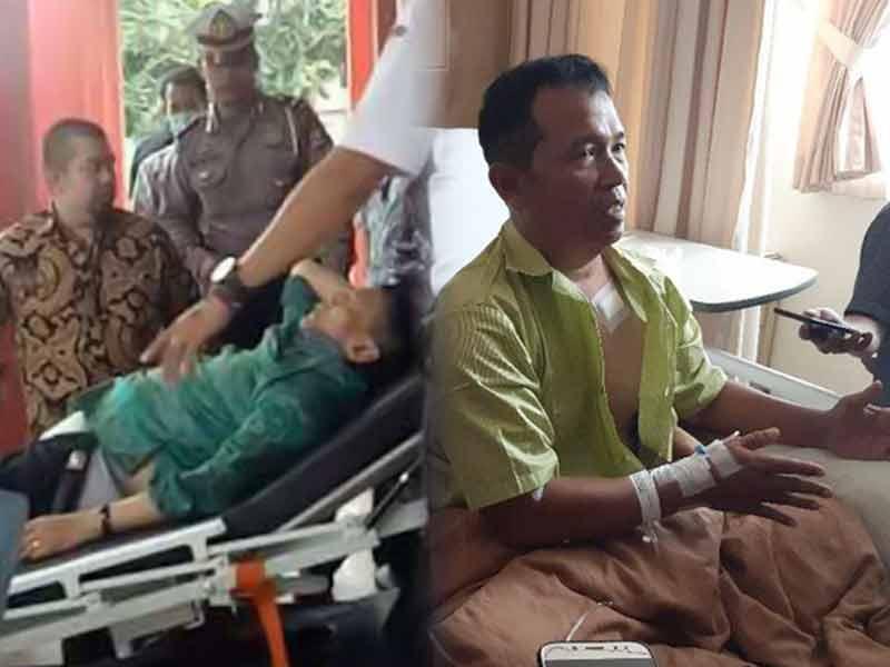 Usus Wiranto Dipotong 40 cm, Kapolsek Menes Derita Lima Tusukan