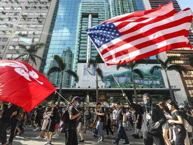 China Ancam AS Atas Lolosnya RUU Yang Mendukung Pengunjuk Rasa