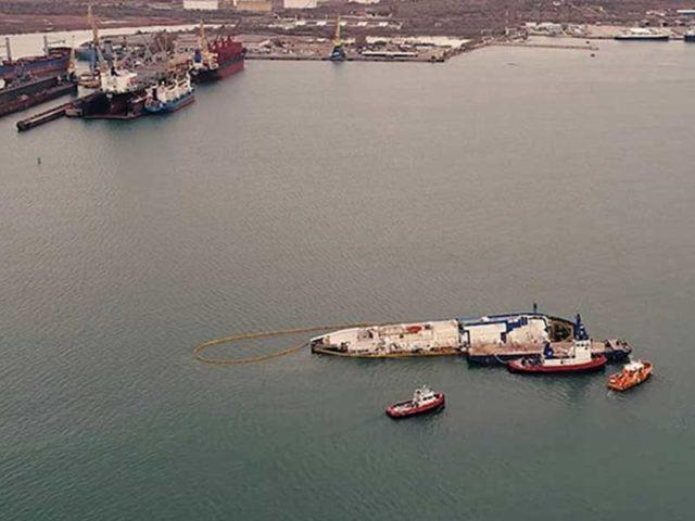 Angkut 14.600 Domba, Kapal Queen Hind Terbalik di Laut Hitam