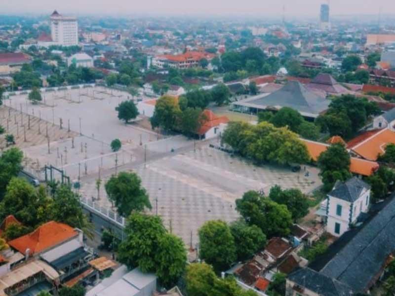 PUPR Rampungkan Penataan Kawasan Keraton Mangkunegaran