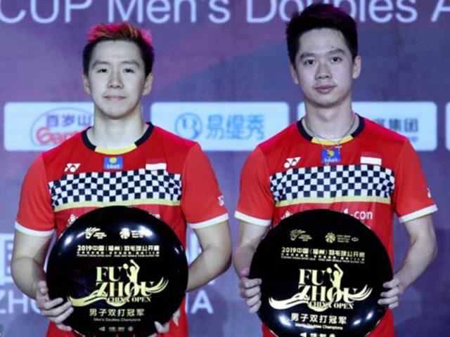 Ganda Putra Indonesia Marcus-Kevin Raih Juara Tiongkok Terbuka 2019