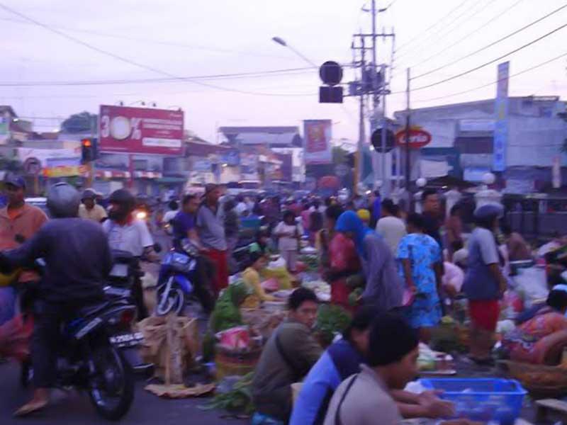 Pasar Pagi di Peterongan Bakal Dipindah ke Pasar Banyumanik