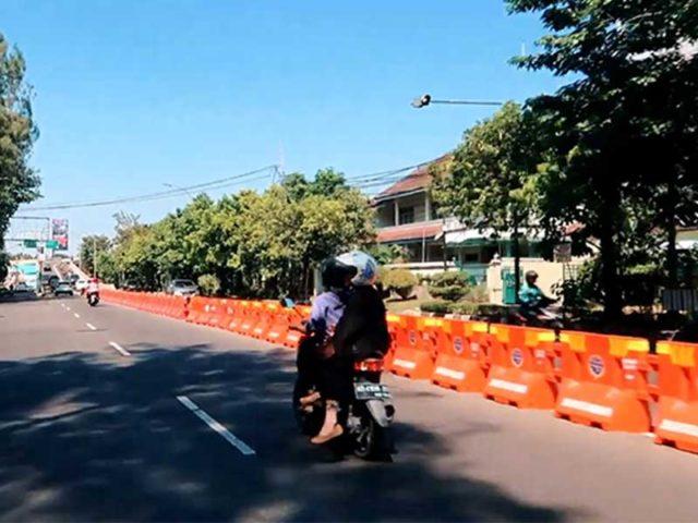 Pemkot Solo Anggarkan Rp1,5 Miliar Untuk Beton Pembatas Median Jalan Flyover Manahan