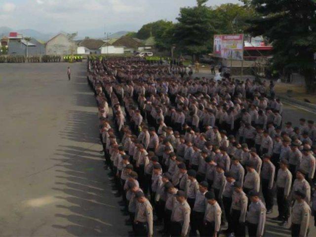 1.490 Personel Tim Gabungan Amankan Pilkades di 168 Desa di Pasuruan