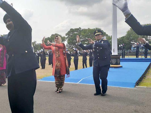 240 Perwira Baru TNI AU Menyongsong Pesawat Tempur F-16