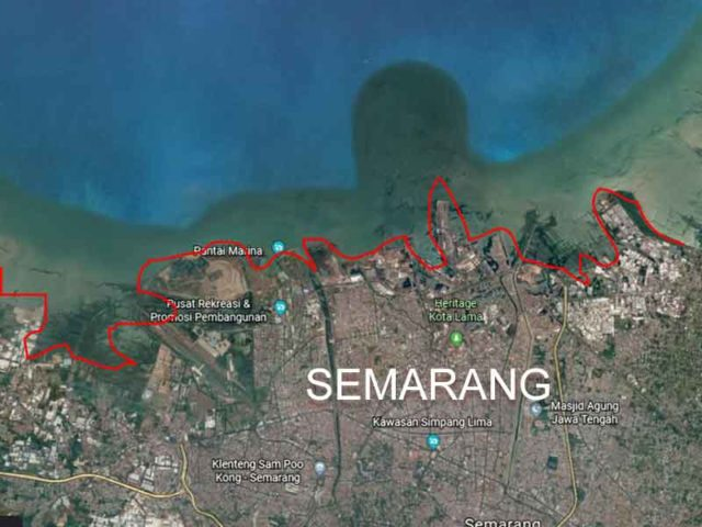 Menunggu Waktu Semarang Tenggelam