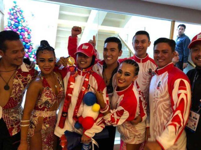 Atlet Dancesport Dwi Cindy Desyana Sumbang Emas Kedua Indonesia di SEA Games 2019