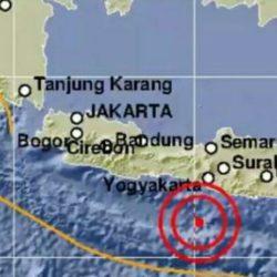 Gempa Magnitudo 5.0 Guncang Gunung Kidul, Warga Diminta Waspada