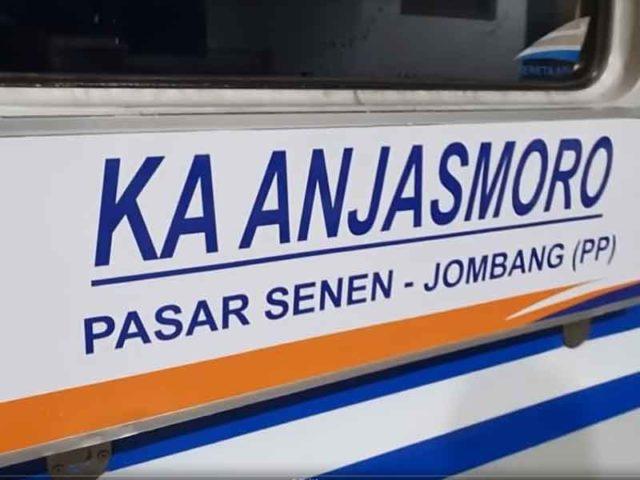 KA Anjasmoro Jombang - Pasar Senen Diluncurkan, Segini Tarifnya