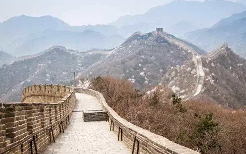 Cegah Penyebaran Virus Corona, Tembok Besar China Ditutup Untuk Umum